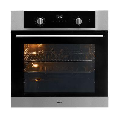 Pelgrim OVP426RVS - Multifunctionele oven met pyrolysefunctie, nis 60 cm