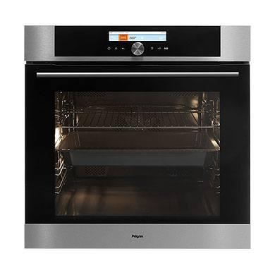 Pelgrim OVP826RVS - Multifunctionele oven met pyrolysefunctie, nis 60 cm