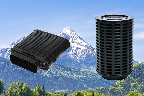 PlasmaMade Air Filters - Niet alleen kookgeur maar ook pollen en allergenen uit de lucht filteren.