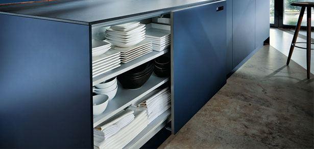 Premium keuken NX902 G482 schuifdeuren