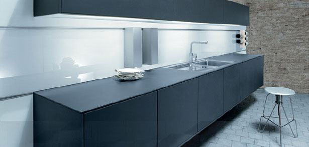 Premiun keuken NX500 L190 zwevende kasten