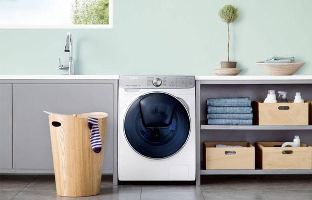 Samsung QuickDrive- wasmachine in washok