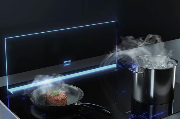 Siemens glassdraftAir afzuigsysteem