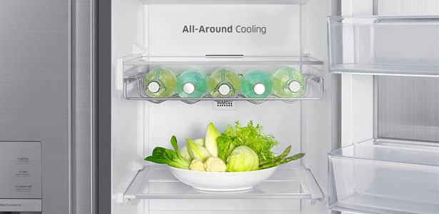 Amerikaanse koelkast van het merk Samsung