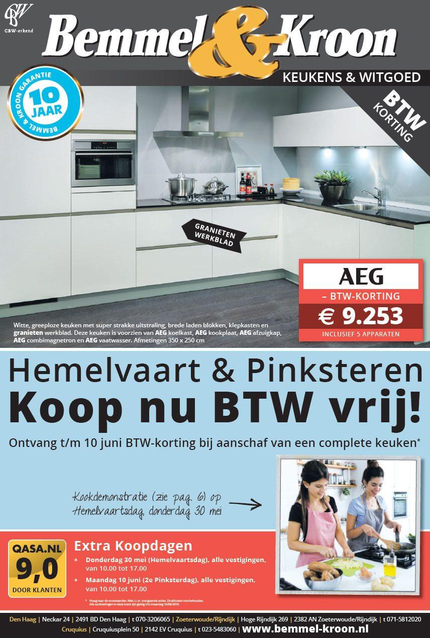 Bemmel & Kroon Actie folder keukens 05-2019