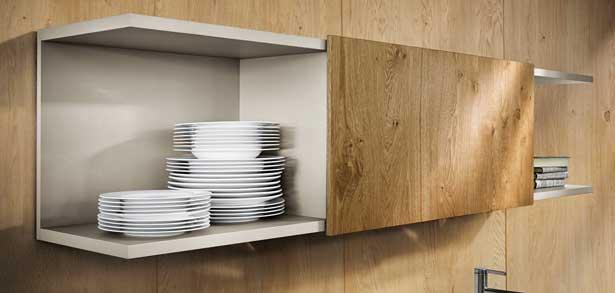 Regaal design bovenkastjes van de next125 keuken type NX510 kleur L212