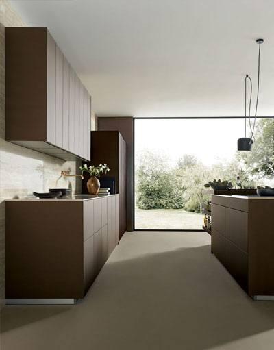 Greeploze next125 keuken NX 902 in metallic bronskleur
