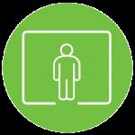 We hanteren het volgende deurbeleid: maximaal 1 persoon per 25 m2 vloeroppervlak