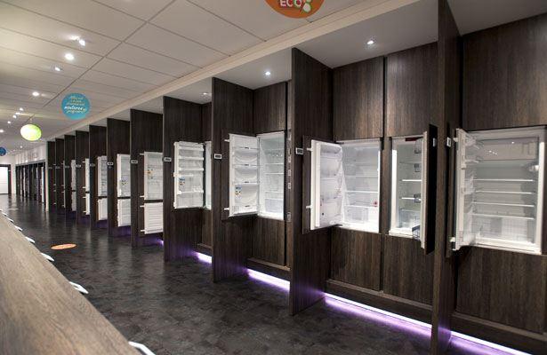 Inbouw koelkasten in onze winkel in den Haag