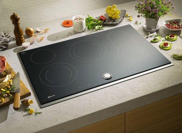 Keramische kookplaten van NEFF met touchcontrol