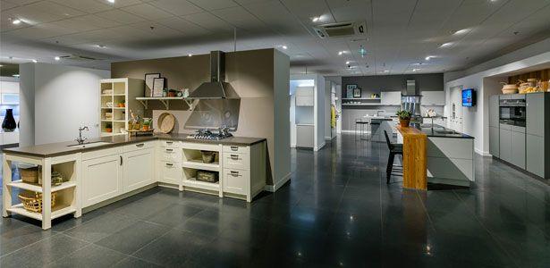 Een aantal keukens in onze keukenzaak