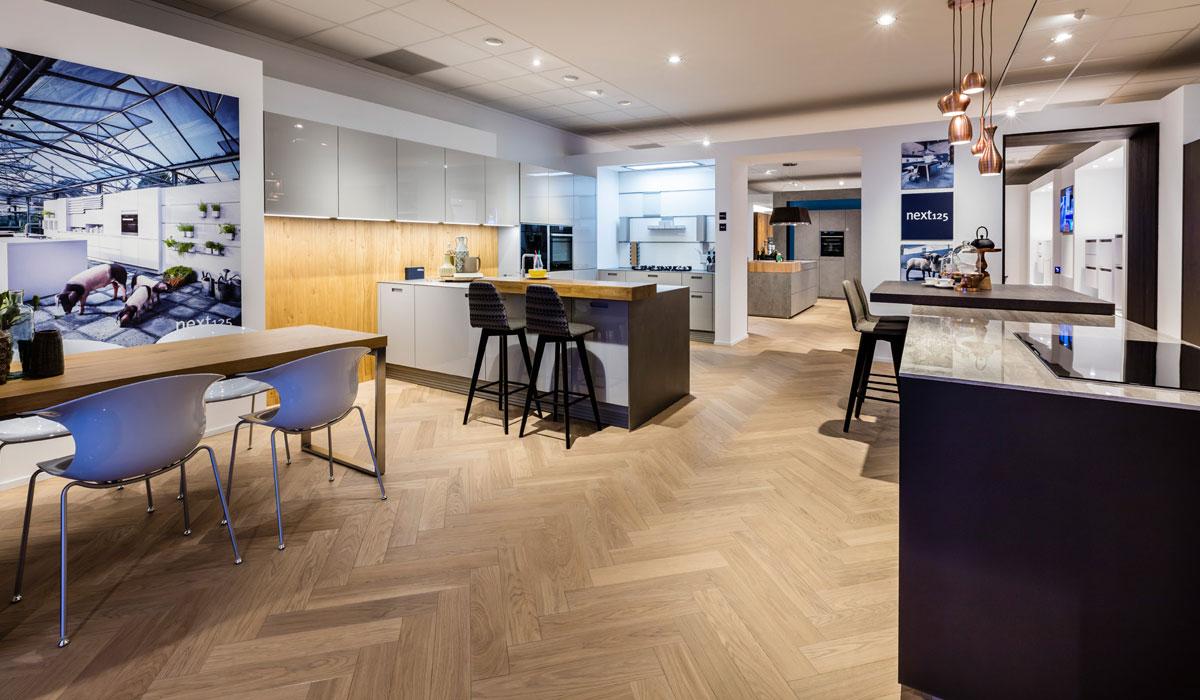 Onze keukenshowroom in Den Haag.