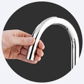 Kraan eigenschap: Safe touch