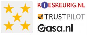 Logos keurmerken klantwaardering