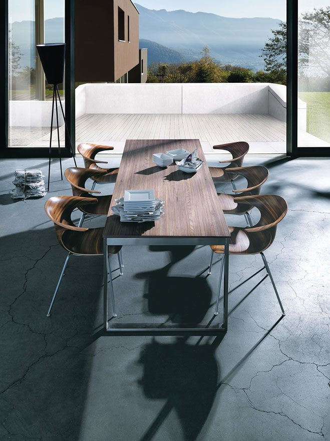 next125 table & chair noten