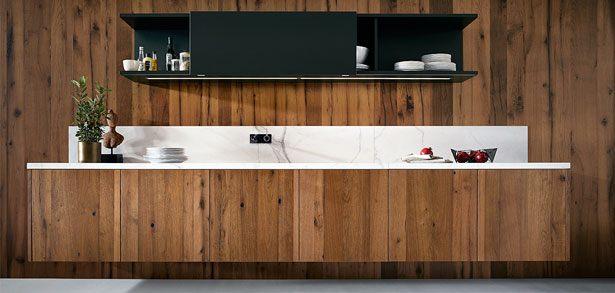 Zwevende onderkasten van de NX500 keuken L335