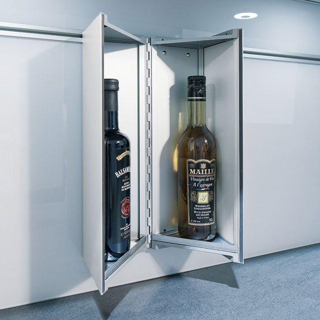 next125 cube-08: Azijn en olie Flessen onder handbereik