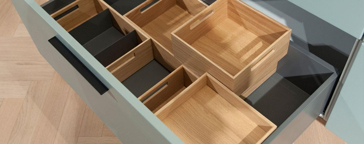 next125 Flex-Boxen van echt hout