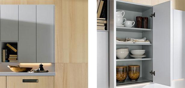 next125 keuken NX620 dennen natuur bovenkastjes