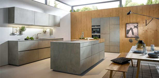 NX 950 C2075 Keramiek beton grijs imitatie