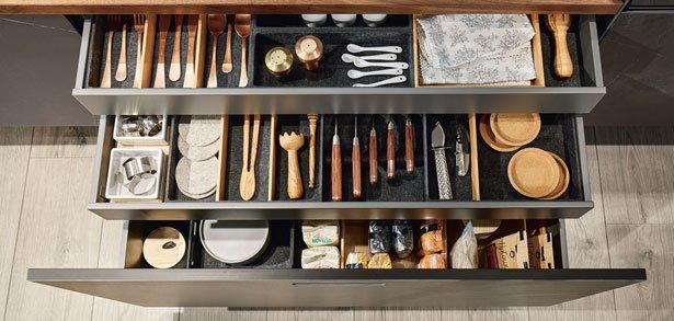 next125 NX 960 - Geraffineerde keuken details