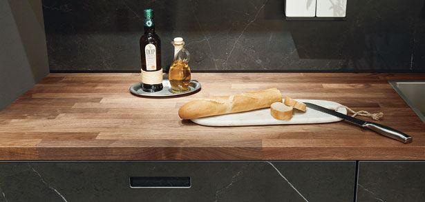 next125 NX960 - Keukenblad in noten natuur