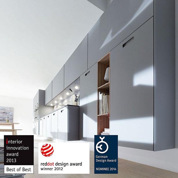 Designonderscheidingen next125 wandhangend systeem