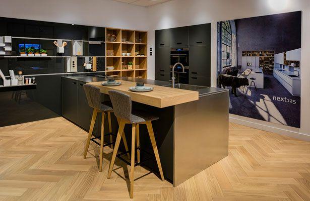 Nieuwe next125 keuken met barblad