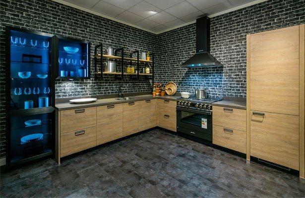 De nieuwste industriële design keukens