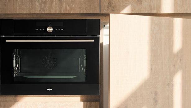 Een Pelgrim oven en koelkast