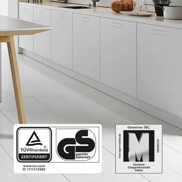 Premium keukenfabrikant next125 certificeringen