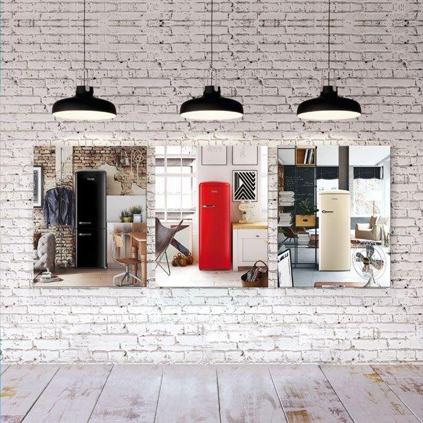 Retro koelkasten van ETNA