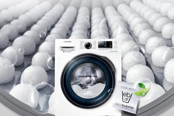 Samsung Eco Bubble technologie