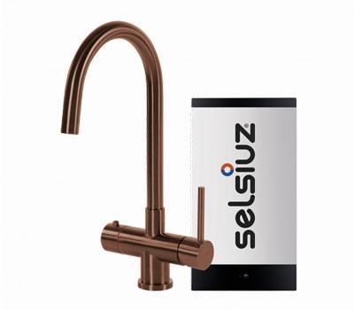 Selsiuz copper rond model met Combi boiler
