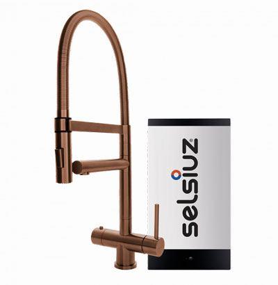 Selsiuz copper XL model met Combi boiler