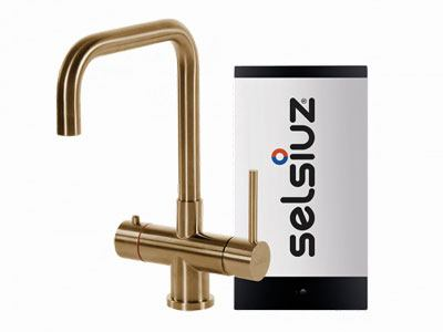 Selsiuz Gold haaks model met Combi boiler