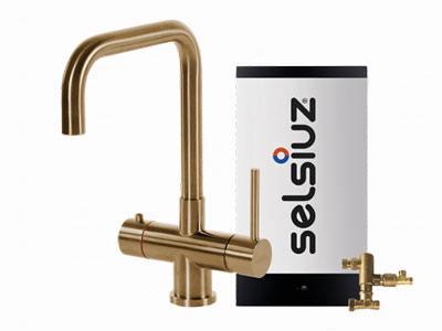 Selsiuz Gold haaks model met Combi extra boiler