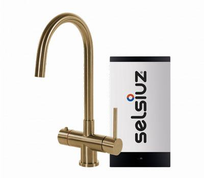 Selsiuz Gold rond model met Combi boiler