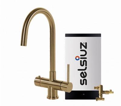 Selsiuz Gold rond model met Combi extra boiler