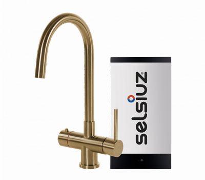 Selsiuz Gold rond model met Single boiler