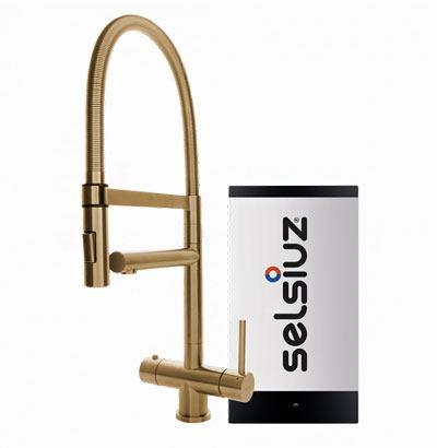 Selsiuz Gold XL model met Combi boiler