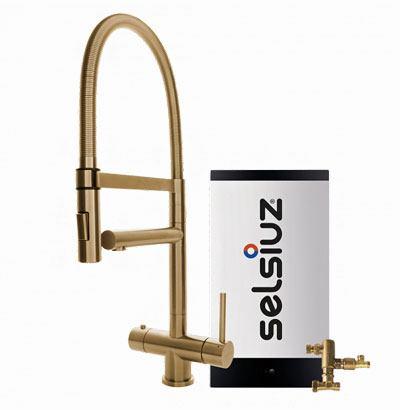 Selsiuz Gold XL model met Combi extra boiler