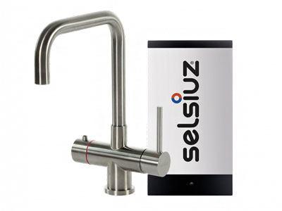 Selsiuz steel inox haaks model met Single boiler