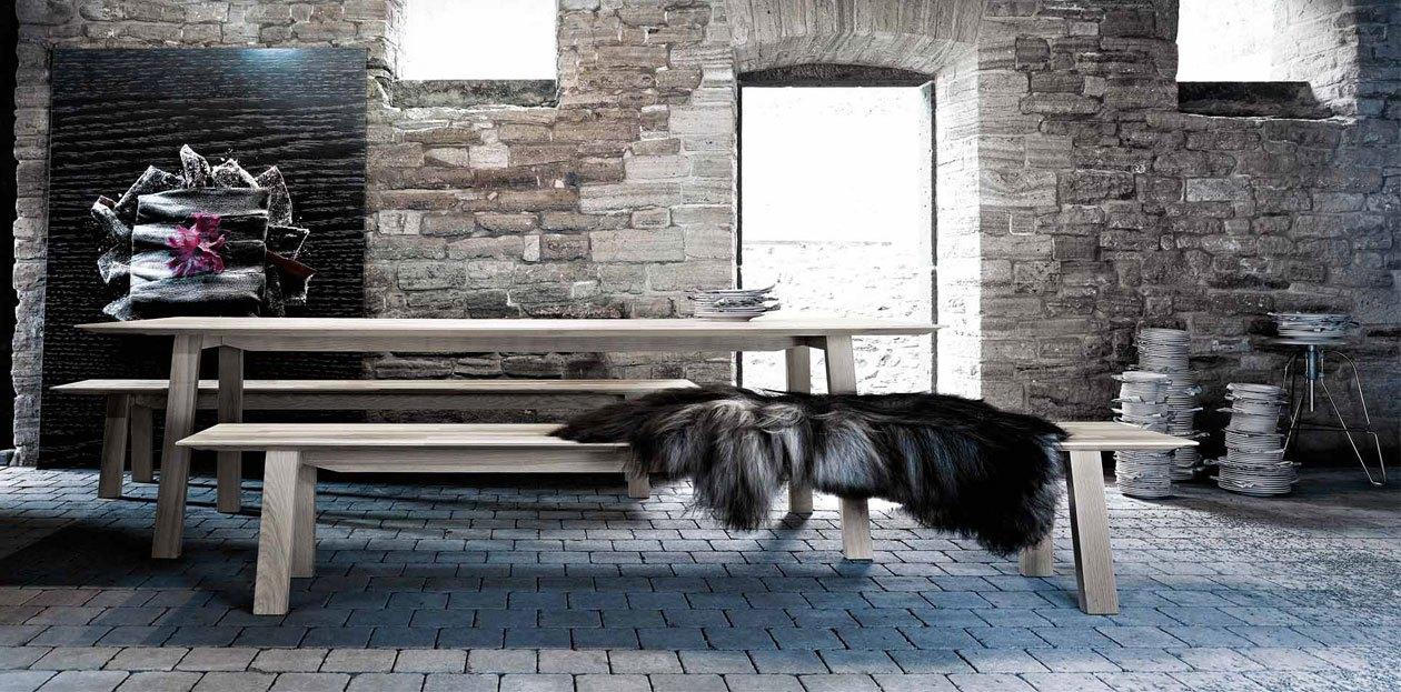 Tafel en banken - next125 -table and bench