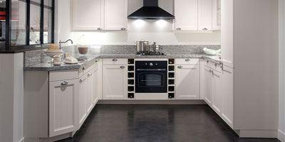 U-keuken keukenindeling